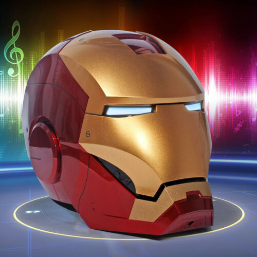 Roan Toys 1:1 Scale Wearable Iron Man MK7 Helmet Upgraded Ver Voice Control