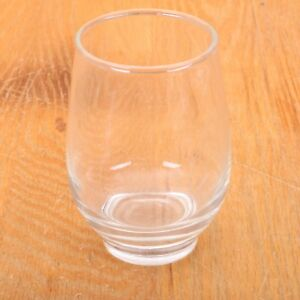 Vintage-Clear-Tumbler-Juice-Glass-Built-In-Foot