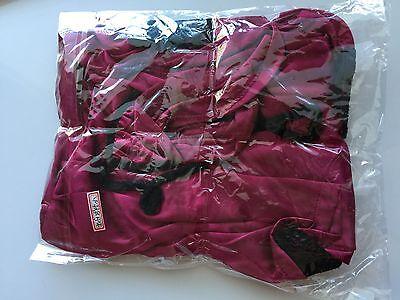 Women Sexy Purple Lace Sleepwear Chemise Kimono Sleep Nighty Gown Bath Robe Coat