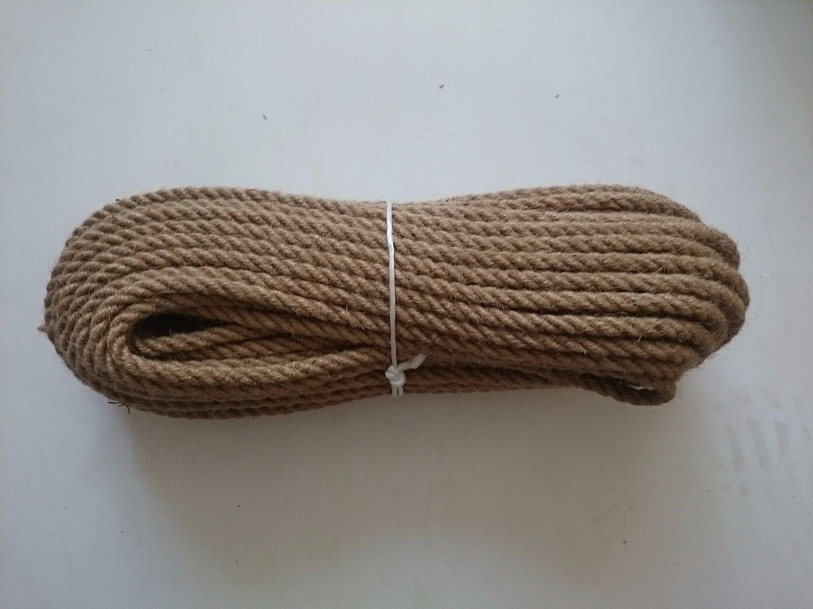 1,89 -  /m Juteseil 28 mm 30 Jute Seil Seil Jute Rope 1 - 30 mm m Natur 028119