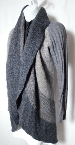AUTUMN CASHMERE Women's Shades of Gray Cashmere Dr