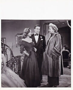 Bette-Davis-Hugh-Marlowe-C-Holm-All-About-Eve-Mankiewicz-Original-Vintage-1950