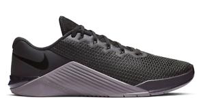 Perpetuo Elegancia cinta  New Nike Metcon 5 Black/Grey Mens Cross Training Shoes r1 | eBay