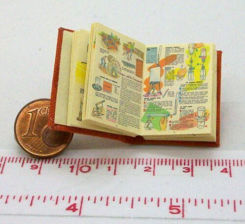M 1zu12 1221# Engl Chemistry Experiments Buch Puppenhaus oder Puppenstube