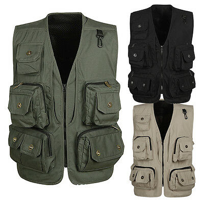3 Colors Multifunctional Beyond Hunting Waistcoat M99G Fishing Top Leisure Vests