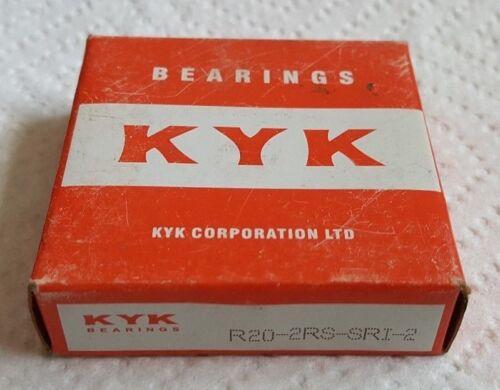 NEW KYK  R20-2RS SRI-2  Single Row Ball Bearing    1E1330