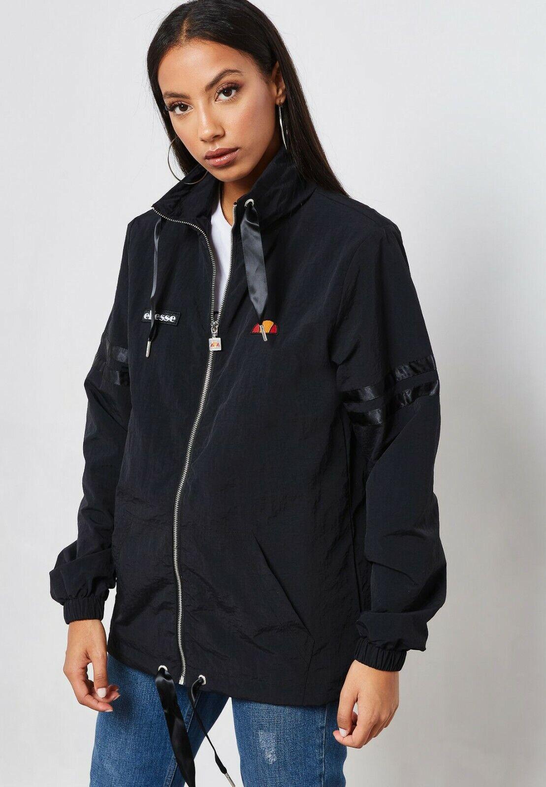 Ellesse señora claudia cremallera chaqueta antracita  outdoor ropa  marca