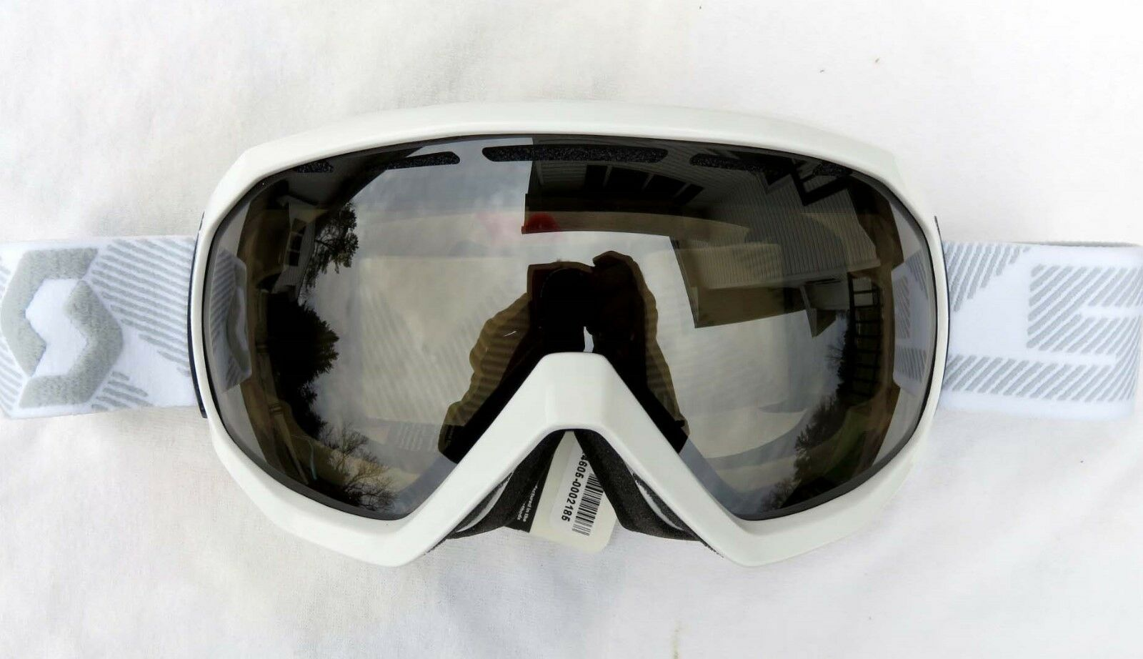 120 Scott Notice OTG Over The Glasses Gloss White Ski Goggles NL-32 Lens Womens  classic style