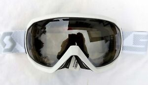 120-Scott-Notice-OTG-Over-The-Glasses-Gloss-White-Ski-Goggles-NL-32-Lens-Womens