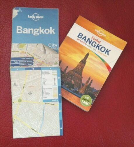 envoi rapide ((( pocket BANGKOK lonely planet + carte ))) édition juin 2013