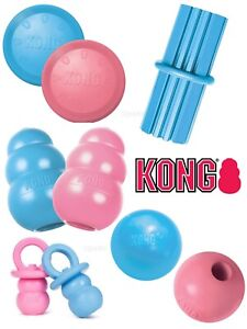 KONG-Puppy-Small-Dog-Toys-Teething-Treat-Dispenser-Chew-Toy-Snacks-amp-Paste
