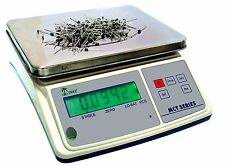 Tree Mct 33 Parts Counting Digital Bench Scale 33lb X 0001lb With 10v Ac Adapter