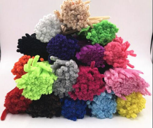 """Lots of Colours 100PCS DIY For Chenille Craft Stems Pipe Cleaners 30cm 12/"""""""
