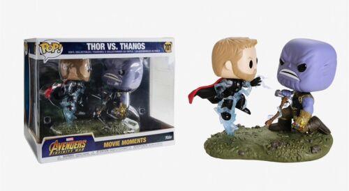 Funko Pop Movie Moments Thor vs Thanos Vinyl Collectibles Item #35799