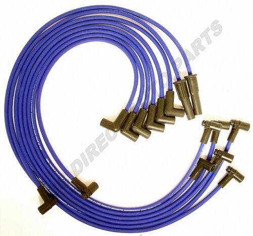 Fits GM 4.4L 5.0L 5.7L 78-87 8 mm Platinum Class Spark Plug Wire Set 48472