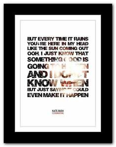 KATE-BUSH-Cloudbusting-song-lyrics-typography-poster-art-print-A1-A2-A3-A4