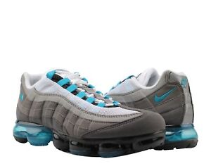 05662b22cfee1 Nike Air Vapormax 95 Black Neo Turq-Medium Ash Men s Running Shoes ...