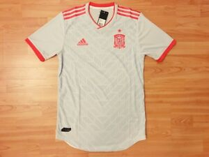 12b10c03f Image is loading adidas-2018-19-Spain-Authentic-Climachill-PLAYER-ISSUE-