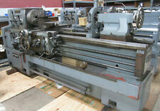1982 Webb 20 X 60 Gap Bed Engine Lathe With 4 Jaw Chuck Steady Rest