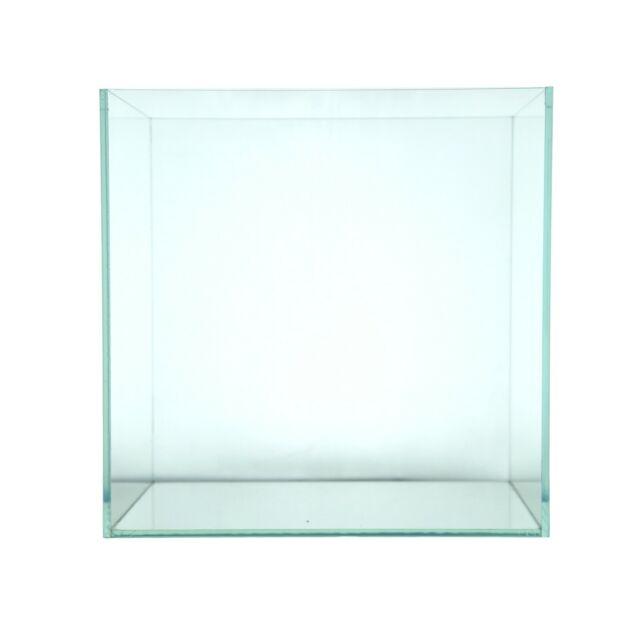 Rimless Low Iron Glass Aquarium 30C Tank 30x30x30cm 5mm Thickness Standard  Joint