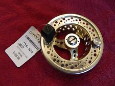 ORVIS VORTEX V02 III 3  Large Arbor Fly Reel Extra SPOOL- Gold - NEW  ($159.00)