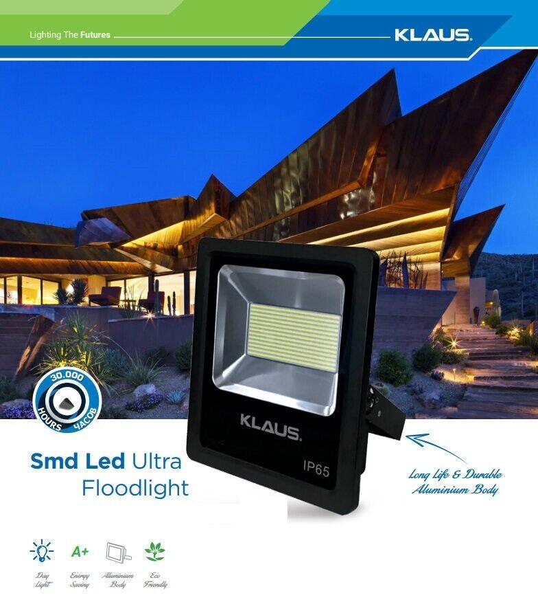 Klaus Industrial Commercial Commercial Commercial LED 200W IP65 Security High Power Floodlight Light e0c92b