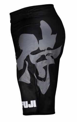 Black Fuji Sakana MMA BJJ No Gi Performance Competition Fight Board Shorts