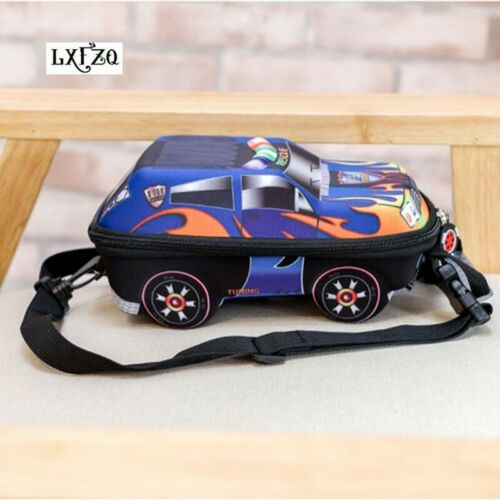3D Car Backpack School Bag For Boys Kids Children Girls Nursery Cars Shaped Bags