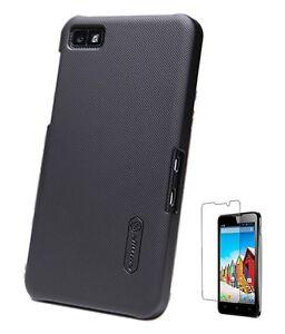 Nillkin-Super-Shield-Shell-Hard-Case-for-Blackberry-Z10-LCD-Screen-Protector