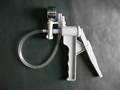 Lab Hand Held Suction Filtration Buchner Funnel Vacuum Pump & Hose Handle