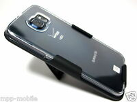 Clear Belt Clip Holster For Samsung Galaxy S 6 S6 - At&t Sprint Verizon Cricket
