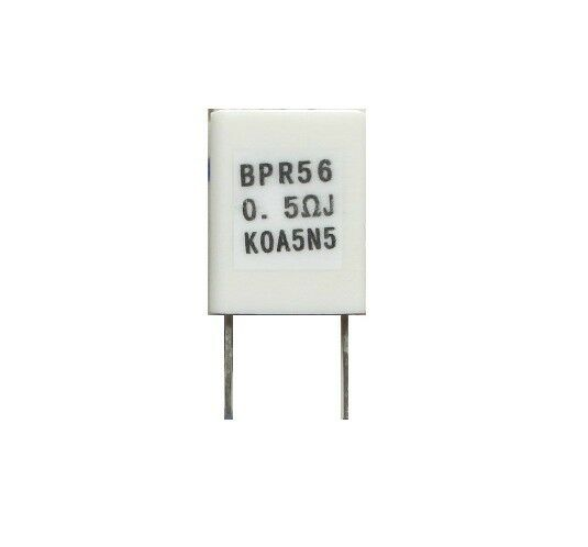 10pcs 0.5R 500MR 5W +/-10% NON-INDUCTIVE RESISTOR