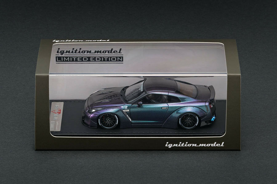 IG1192 - Ignition Model LB-Works GT-R (R35) lila Grün - 1 43