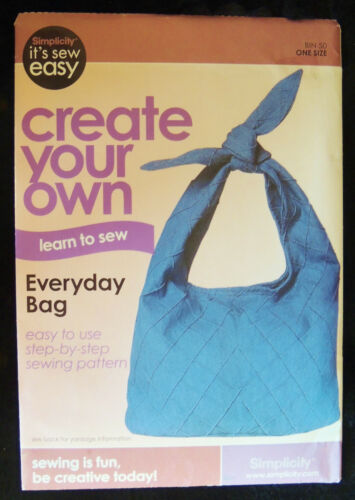 Simplicity Variety Handbag Patterns Shoulder Totes Fashion Drawstring Bag Vest
