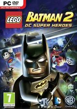 LEGO Batman 2 DC Super Heroes for PC DVD Brand New Sealed