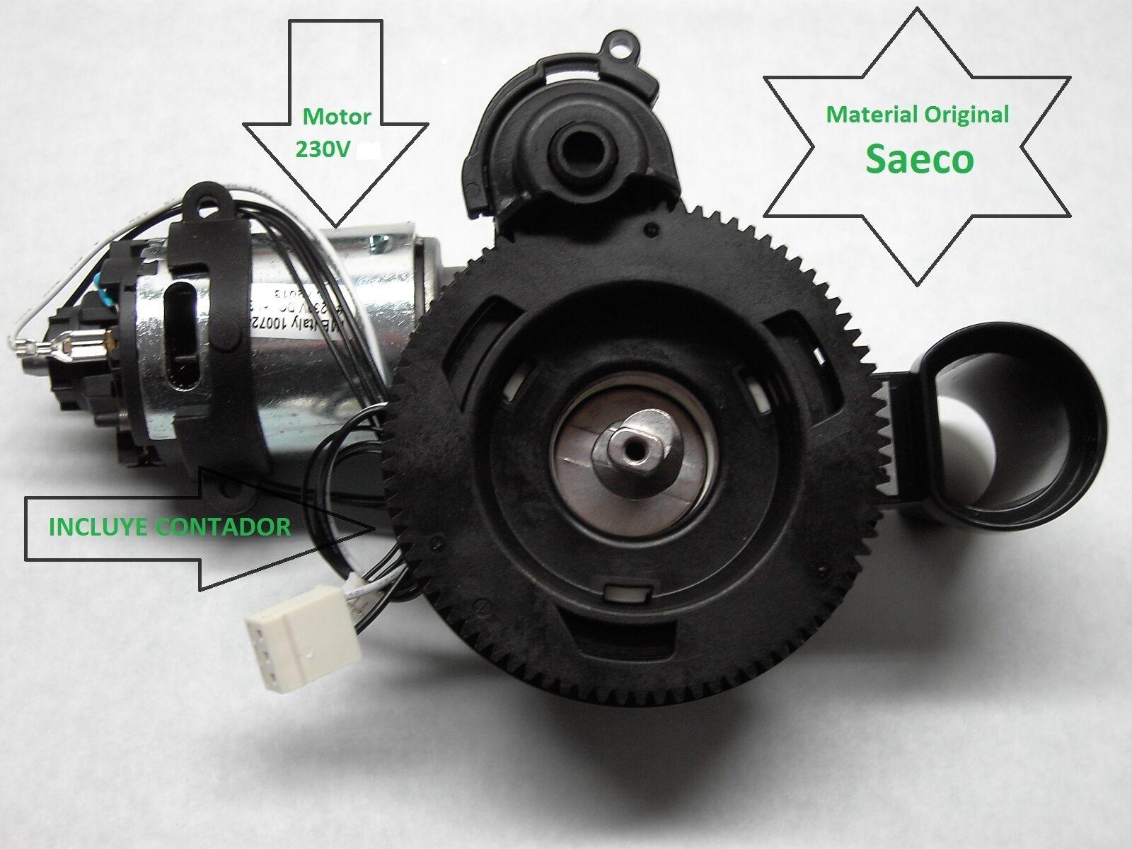 REPUESTOS SAECO Intelia Xsmall SUP033R Conjunto Motor CAFE. Grinder Motor Assy
