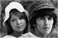 The Beatles George Harrison, Patty Boyd Photo Print 13x19