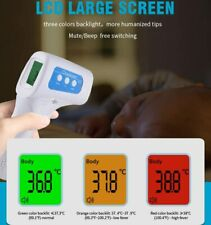 Non Contact Infrared Thermometer Medical Grade Multifunction Design UK Stock