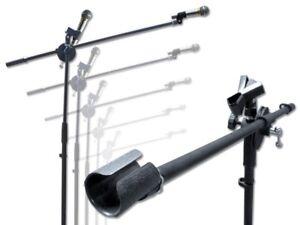Mikrofon-Stativ-Galgen-Mikrofonstaender-Mikrofonklammer-Mikrofon-Stativ-schwarz