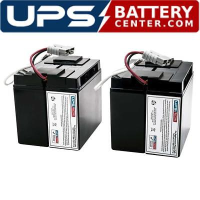 UPSBatteryCenter Compatible Replacement Battery Pack for APC Smart UPS 750VA 120V SUA750