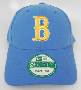 UCLA-BRUINS-NCAA-LIGHT-BLUE-STRAPBACK-NEW-ERA-ADJUSTABLE-9FORTY-940-CAP-HAT-NEW