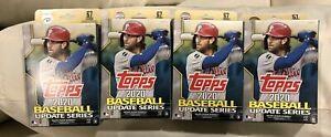 4-2020-Topps-Baseball-Update-Series-FACTORY-SEALED-Hanger-Box-67-Cards-Per-Box