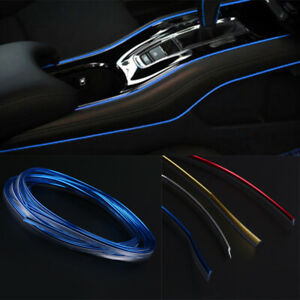 New-Blue-DIY-Car-sUV-Interior-Exterior-Decoration-Moulding-Trim-Strip-Line-5M