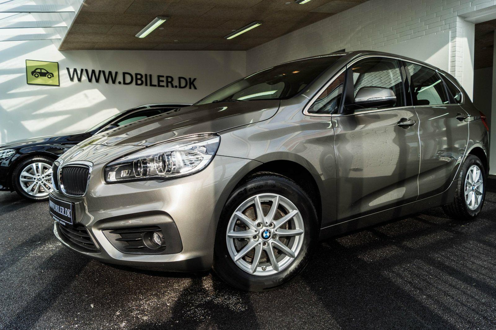 BMW 218d 2,0 Active Tourer Advantage 5d - 305.000 kr.