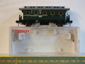 Voiture-FLEISCHMANN-HO-Allemagne-Voiture-2-essieux-3e-cl-Ref-5065