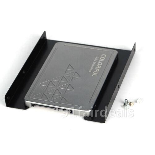 "US New 2.5/"" to 3.5/"" Adapter Bracket Dock SSD Metal HDD Tray Caddy Bay W//SCREWS"