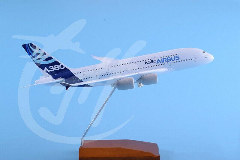 1 200 30CM AIRBUS A380 A380 A380 Passenger Airplane Diecast Metal Plane Aircraft Model 35cc19