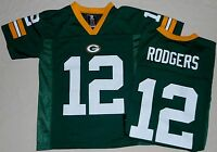 Aaron Rodgers Green Bay Packers 12 Nfl Replica Jersey Youth S M L Xl Green