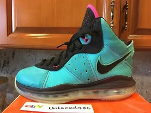 ee3aaa1f6273 Lebron 8 (GS) SOUTH BEACH COLORWAY RARE DS BRAND NEW NIKE OG BRON