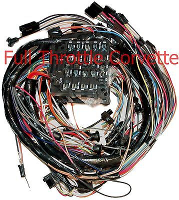 1975 Corvette Dash Wiring Harness. Manual Without Seatbelt ...